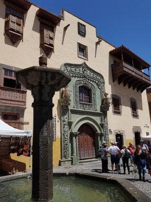 Las Palmas, vor dem Kolumbushaus (Casa de Colón)