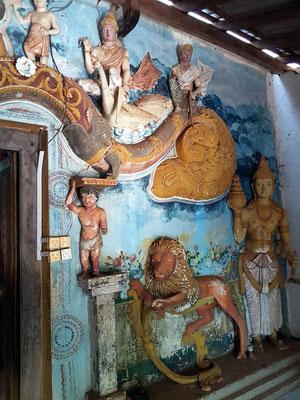 Klosteranlage am Fuße des Pidurangala-Felsens