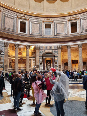 Innenraum des Pantheons