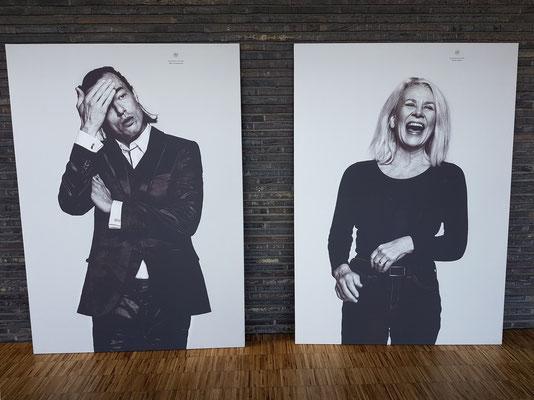 Künstlerfotos: Peter Christoffersen (links) und Kirsten Oleson