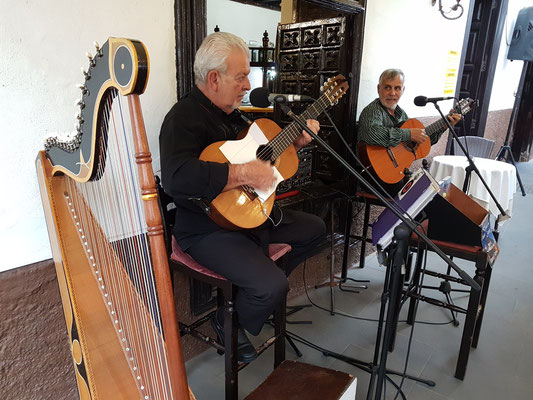 Abendliche Musik auf der Terrasse des Hotels Marquesa