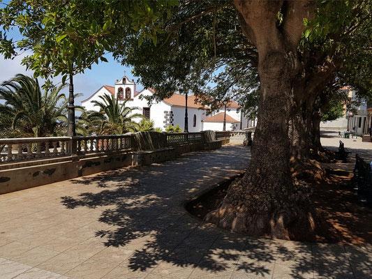 Villa de Garafía, Blick auf die Kirche Nuestra Señora de La Luz
