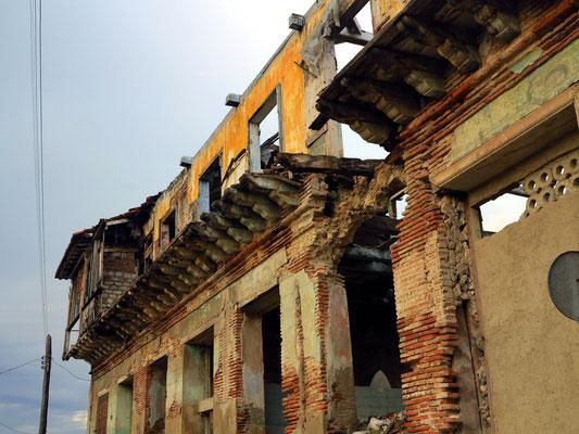 Bild vom Verfall der Stadt