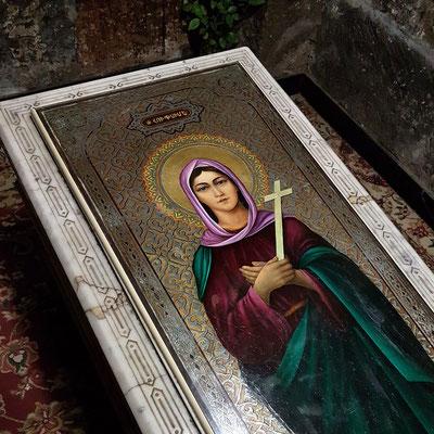 Grabstein der heiligen Hripsime