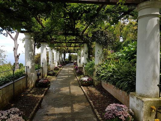 Villa San Michele. Der Park ist der Höhepunkt der Villa.