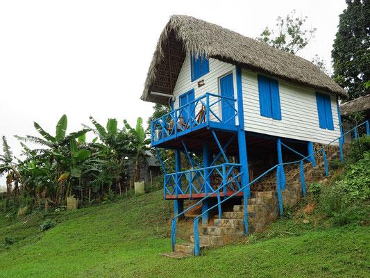 Haus in der Tabakplantage