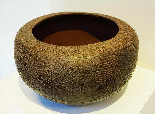 Traditionelle Keramik im Museo de Arte Contemporáneo Eduardo Westerdahl