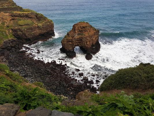 Roque Chico mit Naturbogen