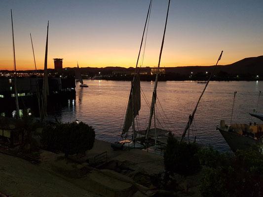 Abendstimmung an der Kornich Al Nile