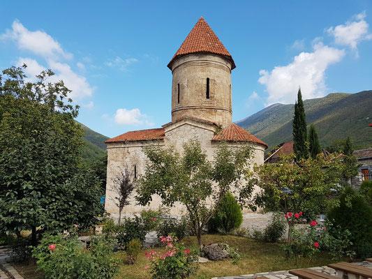 Alte Albanische Kirche in Kish, 7. Jahrhundert