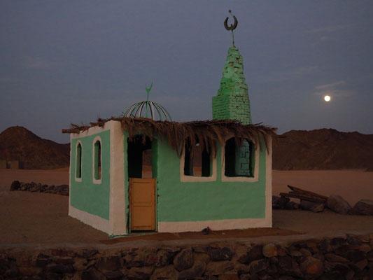 Kleine Moschee in der Beduinensiedlung