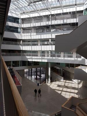 Navitas, Architektur im Inneren