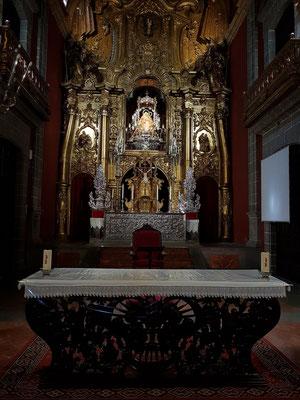 Teror, Hauptaltar der Basilica Nuestra Señora del Pino