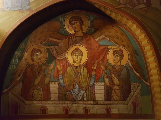 Sioni-Kathedrale, Fresko