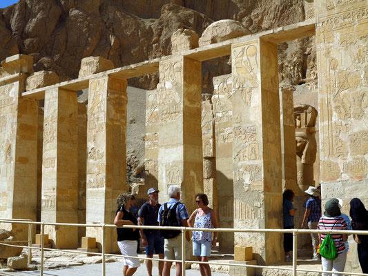 Fassade der Hathor-Kapelle
