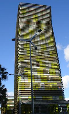 Las Palmas, im Stadtteil Santa Catalina, G.I. Endesa Canarias Edificio Woermann