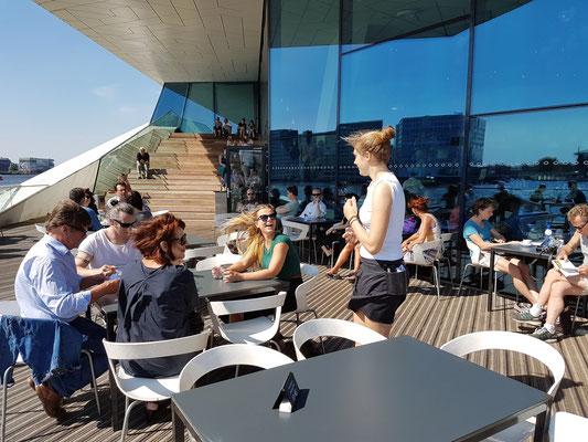 EYE Filmmuseum, Café