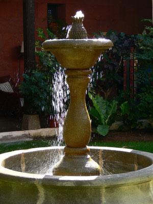 Brunnen im Patio