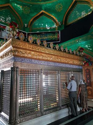 Gräber in der Moschee