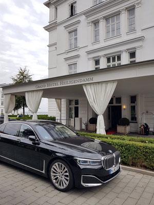 Eingang zum Gran Hotel Heiligendamm