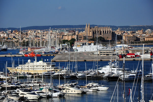 Palma, Hafen und Altstadt
