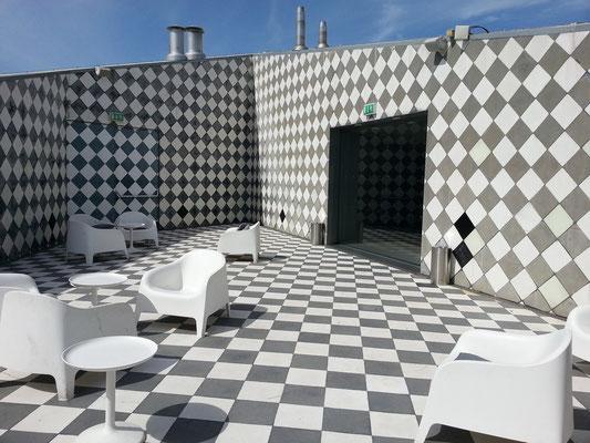 Casa da Música, Dachterrasse