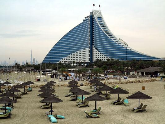 Blick zum Jumeirah Beach Hotel