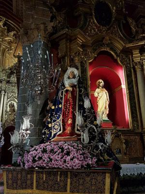 Terror, in der Basilica Nuestra Señora del Pino