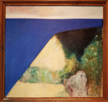 Niels Lergaard (1893-1982, DK): Landscape in Spring, 1943