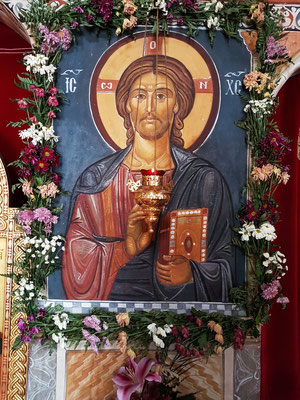 Ikone von Jesus Christus