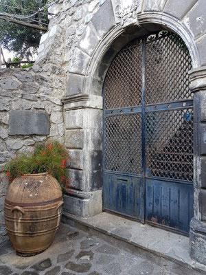 Eingang zur Fondazione Orfeo