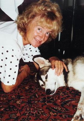 Almut und Yukon, Mitte 1990er Jahre