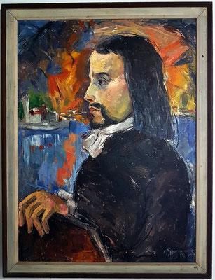 Eines der Porträts im kleinen Museum von Gospa od Škrpjela