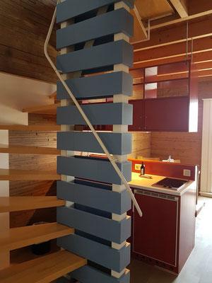 Hotel Speicher Barth, Wohnzimmer im 3. Stock
