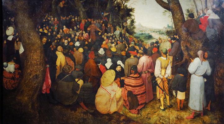 Pieter Bruegel der Ältere: Predigt von Johannes dem Täufer, 1566