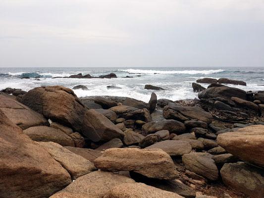 An der Küste von Dondra Lighthouse