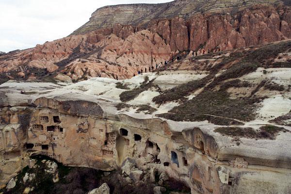 Landschaft bei Çavuşin