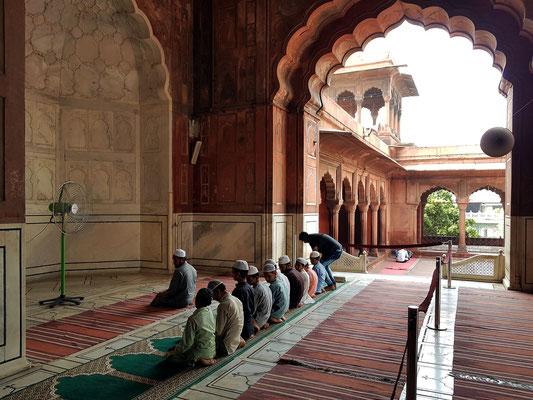 Gebetshalle der Moschee Jama Masjid