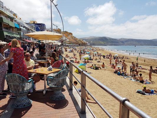 Las Palmas, Promenade und Playa de Las Canteras