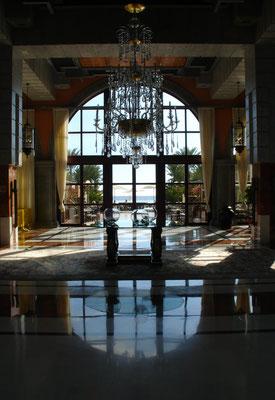 Eingangshalle des Gran Hotel Costa Meloneras