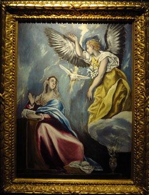El Greco: Verkündigung, um 1600