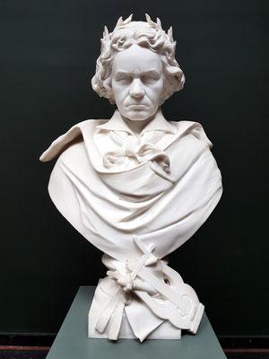 Eugène Guillaume (1822-1905): Ludwig van Beethoven