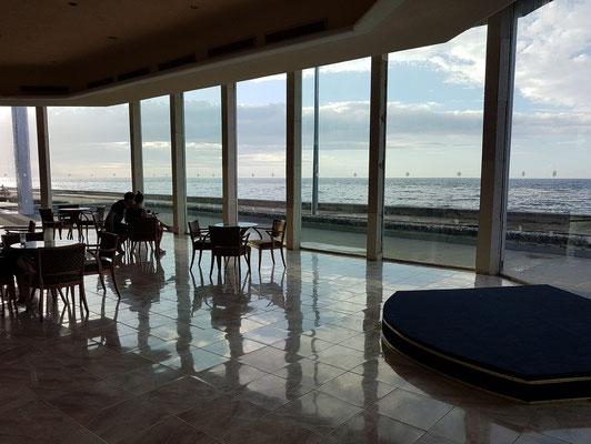 Blick von der Lobby Bar zum Malecón