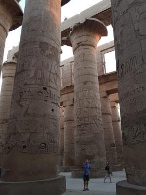 Großer Säulensaal (Hypostol), wie ein steinerner Wald