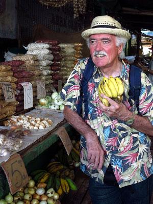 Bananen zur Stärkung am Mittag