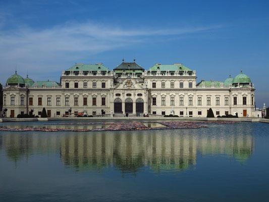 Oberes Belvedere (1720–1723 und 1725/1726, Repräsentationsbau von Prinz Eugen