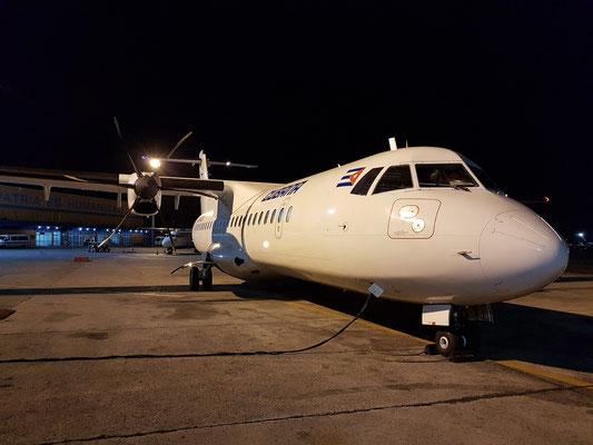 Aeropuerto José Martí: Mit CUBANA TurboProp ATR 72 nach Camagüey