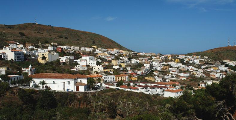 Inselhauptstadt Valverde, Blick von der Calle San Juan nach Norden