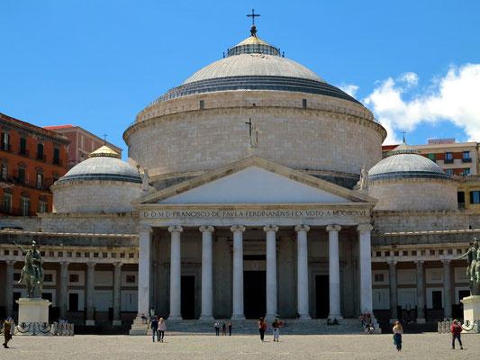 Napoli, Basilica Reale Pontificia San Francesco da Paola