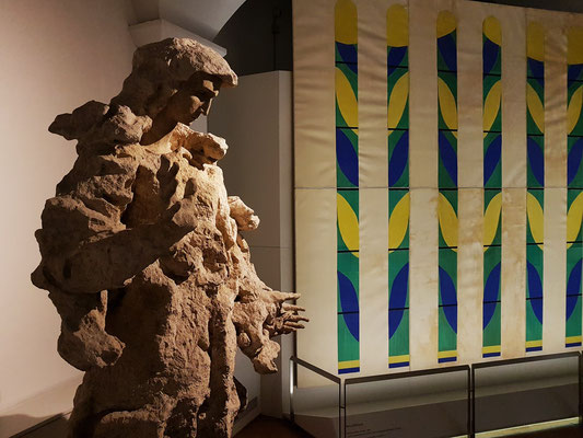 Lucio Fontana und Henri Matisse (Saal 14: Saal Matisse)